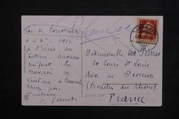 ALLEMAGNE - Oblitération Ambulant Sur Carte Postale Du Lac De Constance En 1912 Pour La France - L 23903 - Brieven En Documenten