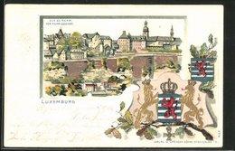Präge-AK Luxemburg, Teilansicht Vom Rham Aus - Luxemburg - Stadt