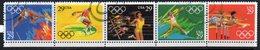 USA 1991 Olympic Games, Barcelona Strip Of 5, Used, SG 2595/9 - Usati