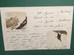 Cartolina Valtournenche - 1904 - Italia