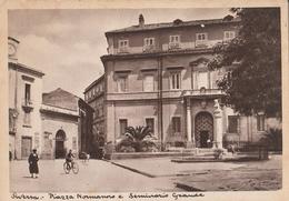 Aversa - Piazza Normanno E Seminario Grande - Aversa