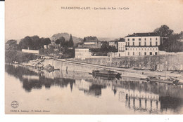 CPA VILLENEUVE-SUR-LOT (47) LES BORDS DU LOT - LA CALE - Villeneuve Sur Lot