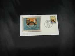 """BELG.1978 1889 FDC Zijde/soie (Brus/Brux) : """" Handel & Nijverheid , Commerce Et D'industrie D'Oostende """" - FDC"""