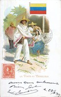 LA POSTE AU VENEZUELA FACTEUR POSTIER STAMP POST OFFICE FACTOR 1900 - Venezuela