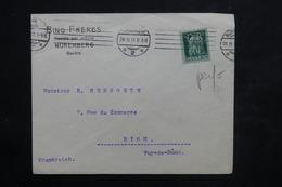 ALLEMAGNE - Timbre Perforé GBN Sur Enveloppe Commerciale De Nuremberg Pour La France En 1911 - L 23906 - Covers & Documents