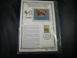 "BELG.1978 1889 FDC Gold/soie Card FR 81/400 Ex : "" Handel & Nijverheid , Commerce Et D'industrie D'Oostende "" - 1971-80"