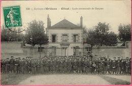 45 - OLIVET - Ecole Communale De Garçons . (nombreux élèves Avec Directeur ) ThG. N° 638 - Autres Communes