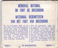 BREENDONK - WILLEBROEK - ANTWERPEN - BELGIE - 10 SNAPSHOTS FORT VAN BREENDONK. - Willebroek