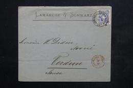 ALLEMAGNE - Enveloppe Commerciale De Saint Johann Ad Saar Pour La France En 1880 - L 23910 - Briefe U. Dokumente