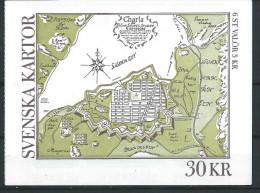 Suède 1991 Carnet C1637 Neuf Cartes Et Plans - Carnets