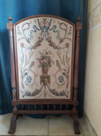 Pare-feu Chêne Et Tapisserie - Rugs, Carpets & Tapestry