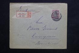 ALLEMAGNE - Enveloppe En Recommandé De Halle Pour Le Brésil En 1900 - L 23911 - Covers & Documents