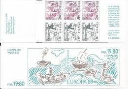 Suède 1989 Carnet C1522 Neuf Europa: Jeux D'enfants - Carnets
