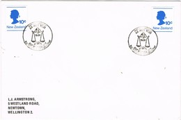 31599. Carta AUCKLAND (New Zealand) 1981. 50 Anniversay Inst Chemistry. QUIMICA - Nueva Zelanda