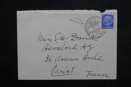 """ALLEMAGNE - Oblitération Maritime """" Deutsch Americanische Bremen New York """" En 1938 Sur Enveloppe Pour Paris - L 23913 - Allemagne"""