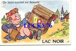 Lac Noir Je Suis Arrive En Beaute Carte A Systeme 10 Vues - France