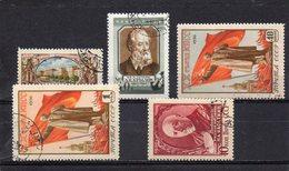 URSS 1955-6 O - Oblitérés