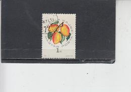 UNGHERIA  1964 - Yvert  1664 - Albicocche - Frutta