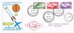 31604. Carta First Flight BISCEGLIE (Ba) Italia 1969. Vuelo Conmemorativo Jacopo Caló Carducci - 6. 1946-.. Repubblica