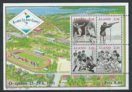 Aland 1991 Bloc N° 1 Neuf, Sports - Aland
