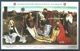 2010 ORDINE DI MALTA SMOM  Foglietto  Serie Completa Usata FDC Bellissima - Sovrano Militare Ordine Di Malta