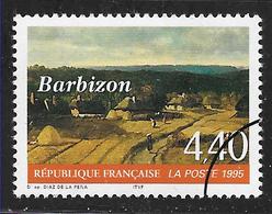 FRANCE 2970 Barbizon Par Diaz De La Pena Avec Gomme - Frankreich
