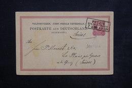 ALLEMAGNE - Entier Postal De Danzig Pour La Suisse En 1880 - L 23920 - Ganzsachen