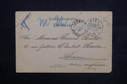 """ALLEMAGNE - Oblitération """" Kiel - Kaiserl. Yatchklub """" Sur Carte Postale En 1901 Pour La France - L 23921 - Covers & Documents"""