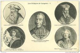 52 - LES EVEQUES DE LANGRES - Langres
