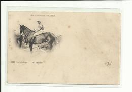 Thème Chevaux, Hippisme,Jockeys, G. Stern, Précurseur, Voir Scann Verso ( Tous Frais En + 1,40 Euro) - Hippisme