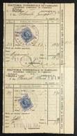 Esattoria Consorziale Di Fabriano Tesoreria Comunale 1919 Pieghe Doc.004 - Azioni & Titoli