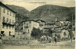 Lantosque Vue Prise Du Riou Chasseurs Alpins - Lantosque
