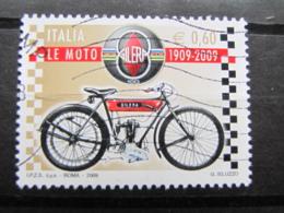 *ITALIA* USATI 2009 - CENTENARIO GILERA - SASSONE 3094 - LUSSO/FIOR DI STAMPA - 6. 1946-.. Repubblica