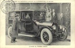 Reproduction - Banquet Offert Au Président Wilson Au Luxembourg Le 20-1-1919  - L'arrivée Du Pdt Wilson - Réceptions