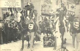 Reproduction - 60 - COMPIEGNE - Fêtes De Jeanne D'Arc, 1913 - Le Cortège Dans Les Rues De La Ville - Compiegne