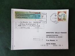 (19967) STORIA POSTALE ITALIA 1996 - 6. 1946-.. Repubblica