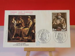 Louis Le Nain - Paris - 8.11.1980 FDC 1er Jour N°1184 - Coté 3€ - FDC