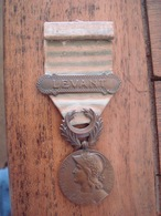 Médaille Du Levant. - France