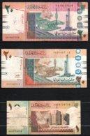 Soudan Lot De 3 Billets - Soudan