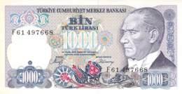 1000 Türk Lira Banknote Türkei - Türkei