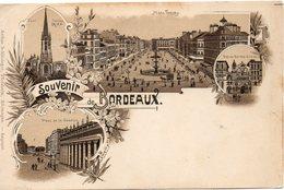 SOUVENIR DE BORDEAUX CARTE PRECURSEUR - Bordeaux