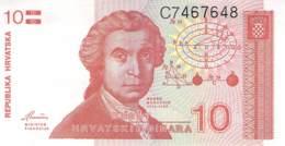 10 Dinar Banknote Republika Hrvatska (Kroatien) 1991 - Croatia