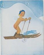 SPORT - Ski - Dessin Savinel N°14 - Sports D'hiver