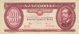 100 Forint Banknote Ungarn 1984 - Ungarn