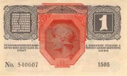 1 Kronen Banknote Deutsch-Österreich 1916 - Oesterreich