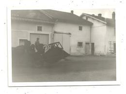 Photographie , 12.5 X 9 , Automobile , Matériel Agricole , Ferme - Automobiles