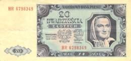 20 Zloty Banknote Polen 1948 - Polonia