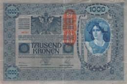 1000 Kronen Banknote Österreich-Ungarn 1902 - Austria