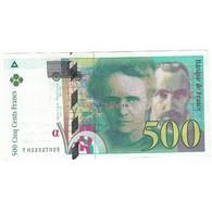 500 Francs PIERRE ET MARIE CURIE 1994 Fayette F76.1 - 1992-2000 Aktuelle Serie