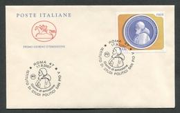 FDC ITALIA 2007 - CAVALLINO - ISTITUTO DI STUDI POLITICI SAN PIO V ROMA - 270 - 6. 1946-.. Republik